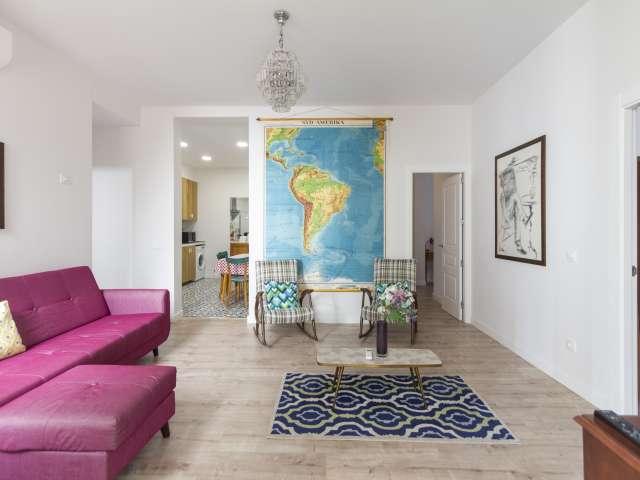 Schöne 2-Zimmer-Wohnung zur Miete in La Latina, Madrid