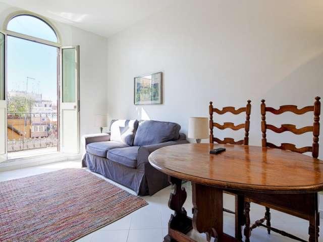Comodo appartamento con 1 camera in affitto a Centro Storico, Roma