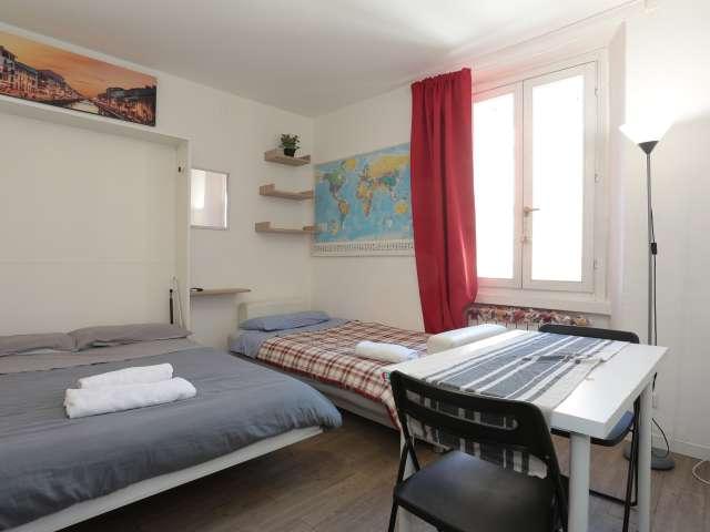 Cosy studio apartment for rent in Navigli, Milan
