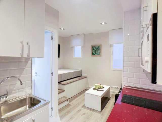 Independent studio apartment for rent in Acacias, Madrid