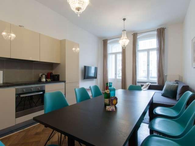 Chic 3-bedroom apartment for rent in Moabit, Berlin