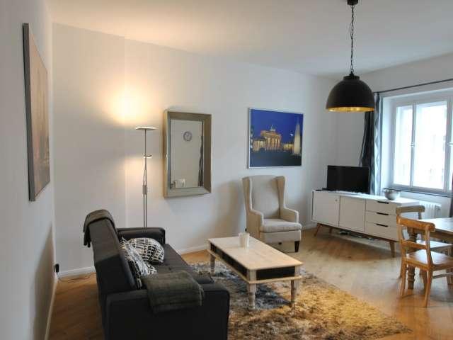 Stilvolles Apartment mit 1 Schlafzimmer in Charlottenburg, Berlin