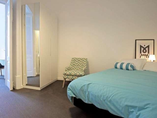 Bonito apartamento de estúdio para alugar em Arroios, Lisboa