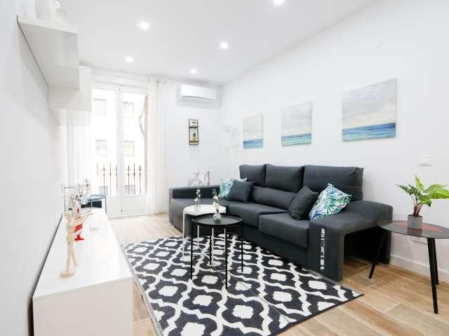 Moderne 3-Zimmer-Wohnung zur Miete in Atocha, Madrid