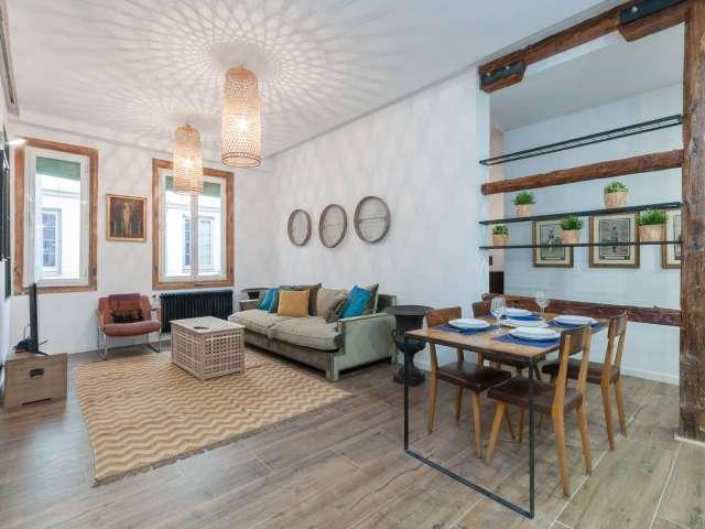 2-Zimmer-Wohnung zur Miete in Madrid Centro