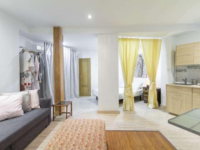 Stylish studio apartment for rent in Retiro, Madrid