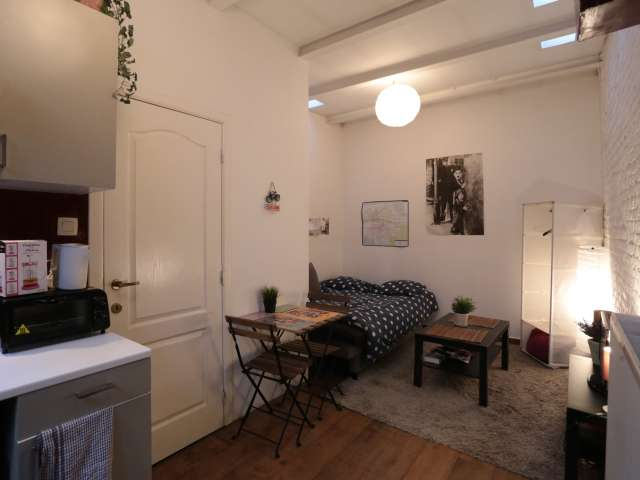 Studio apartment for rent in Uccle, Brussels
