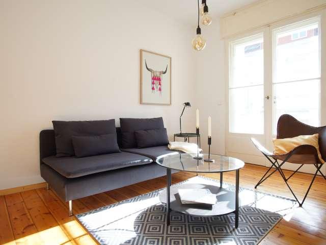 Helle Wohnung mit 1 Schlafzimmer in Treptow-Köpenick zu vermieten