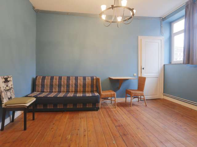Sunny 1-bedroom apartment for rent in Saint Gilles, Brussels