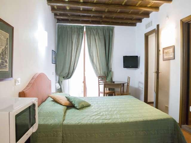 Accogliente appartamento con 1 camera da letto in affitto nel centro storico di Roma