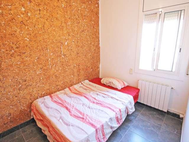Large room in 2-bedroom apartment, Horta Guinardó, Barcelona