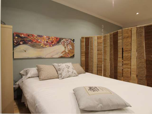 Sophisticated studio for rent in Retiro, Madrid