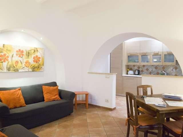 Geräumige 1-Zimmer-Wohnung zur Miete in Centro Storico, Rom