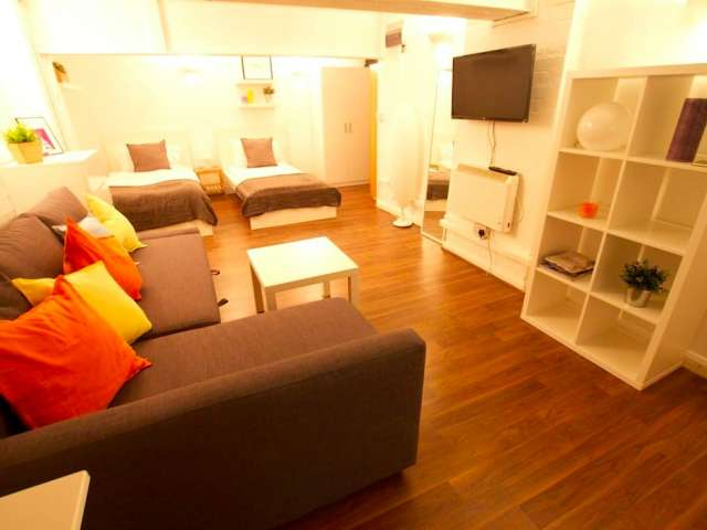 Cozy studio flat to rent in Shoreditch, London