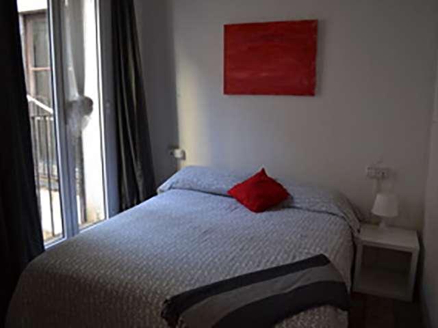 Ausgestattete Zimmer in einer Wohngemeinschaft in Barri Gòtic, Barcelona