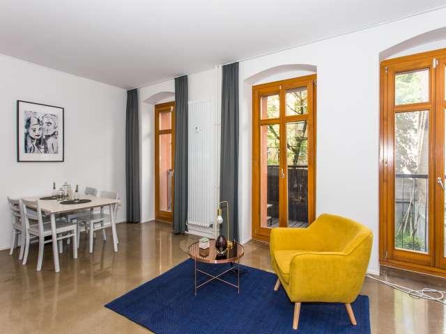 Bohemian Studio-Apartment in Friedrichshain, Berlin zu vermieten