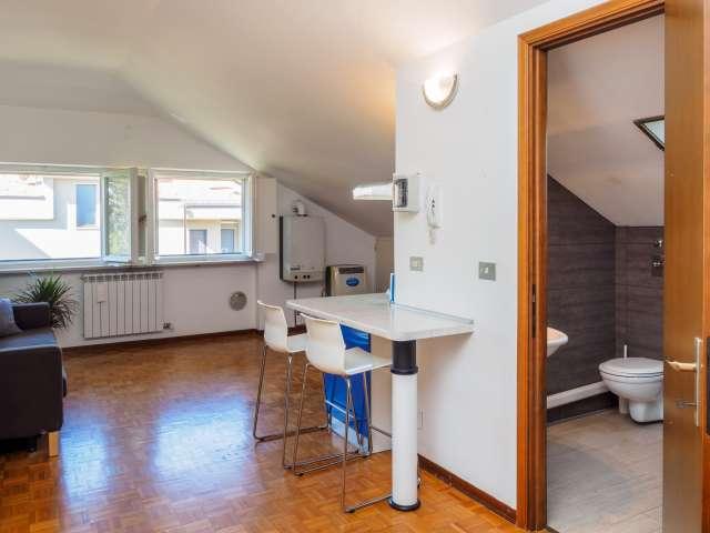 Die geräumige Studio-Wohnung zur Miete in Cesano Boscone, Mailand