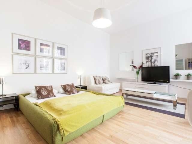 Bright studio apartment for rent in Kreuzberg, Berlin