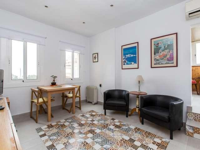 Helle 3-Zimmer-Wohnung zur Miete in Vila Olímpica