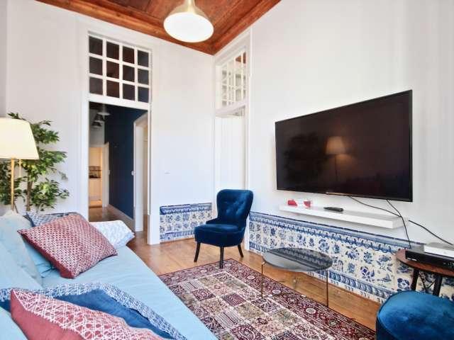 Apartamento com 2 quartos para alugar em Santa Maria Maior, Lisboa