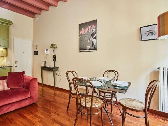 Affascinante appartamento con 1 camera da letto in affitto a Brera, Milano