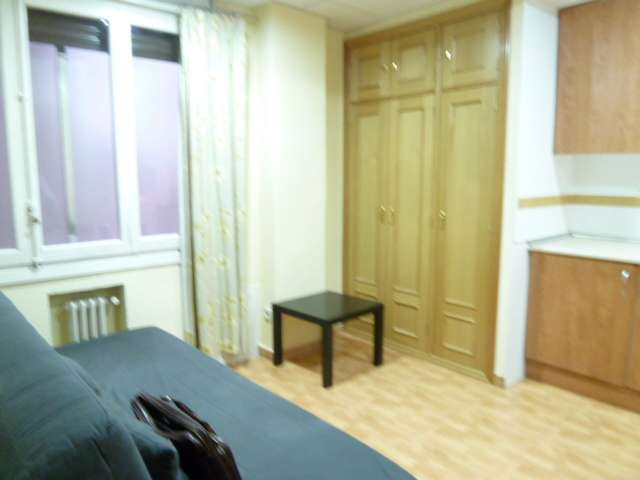 Studio apartment for rent in Cuatro Caminos, Madrid