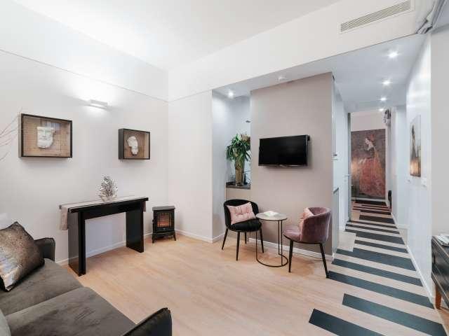 Elegant 1-bedroom apartment for rent in Centro Storico, Rome