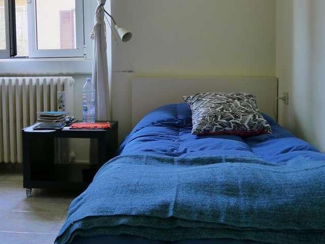 Spaziosa camera in appartamento con 2 camere da letto a Città Studi, Milano