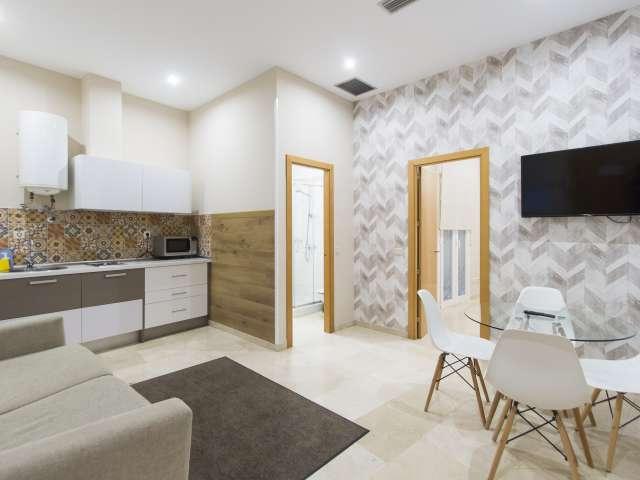 1-Zimmer-Wohnung zur Miete in Madrid Centro