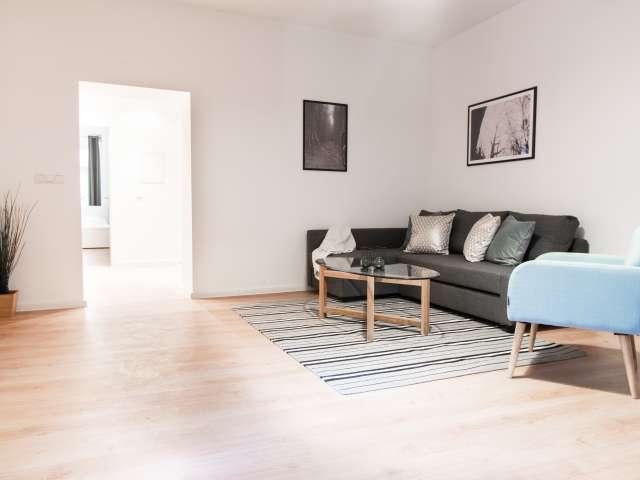 Simple 2-bedroom apartment for rent in Moabit, Berlin