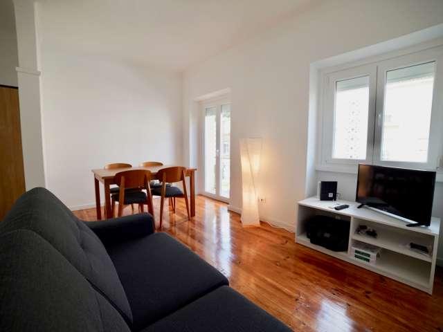 Bom apartamento de 3 quartos para alugar em Alvalade, Lisboa