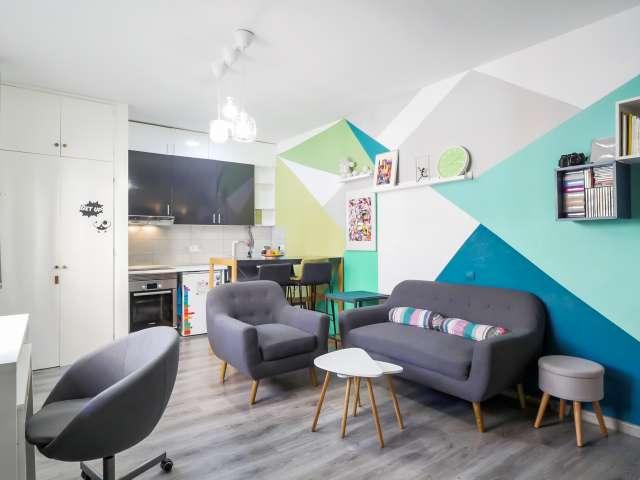 Studio apartment for rent in Sarrià, Barcelona