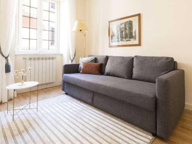 Appartamento con 1 camera da letto in affitto a Roma