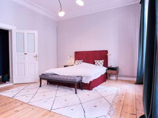 Geräumiges Zimmer zur Miete in 5-Bett-Wohnung in Mitte, Berlin