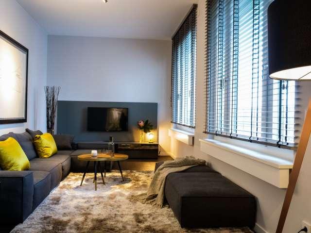 Moderne Wohnung mit 1 Schlafzimmer in Mitte, Berlin