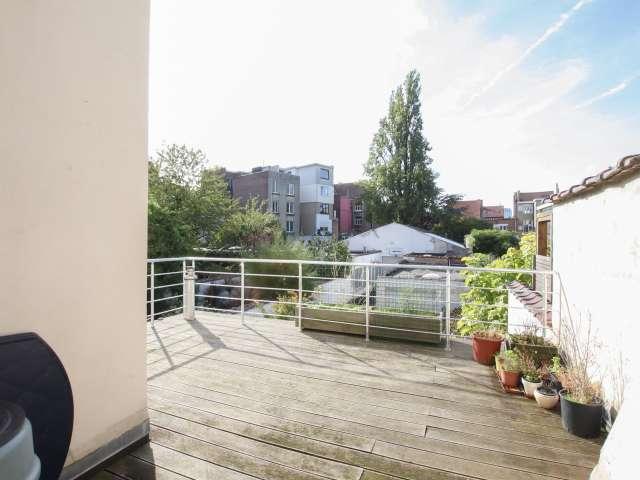 appartement de 2 chambres à louer à Schaerbeek, Bruxelles