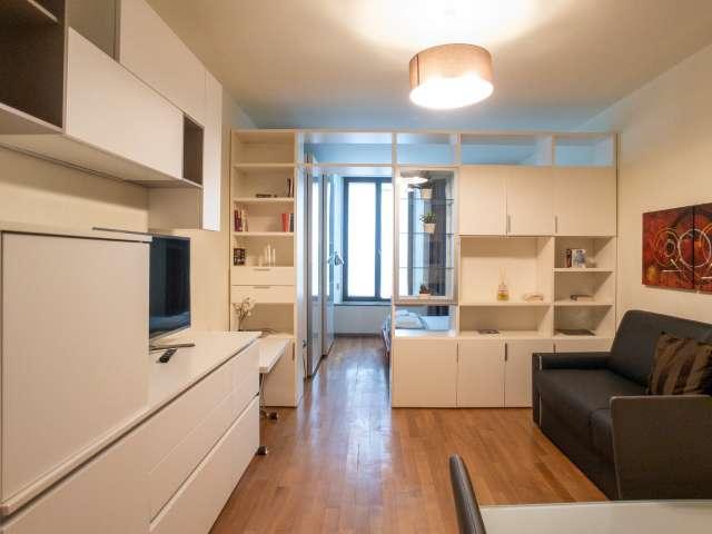 Studio apartment for rent in Centro, Milan