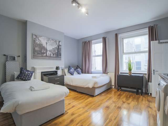 Spacious studio flat to rent in City of Westminster, London