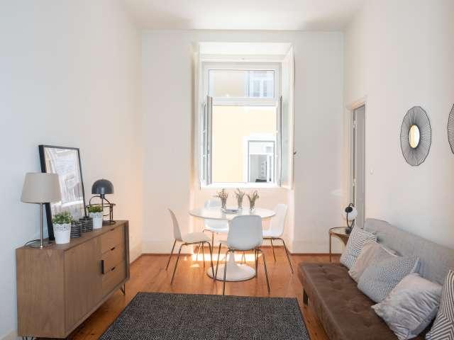 Apartamento moderno de 2 quartos para alugar em Santa Maria Maior