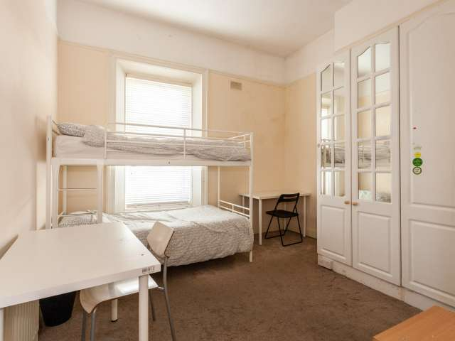 Bed to rent in room in 12-bed house, lively Downtown, Dublin
