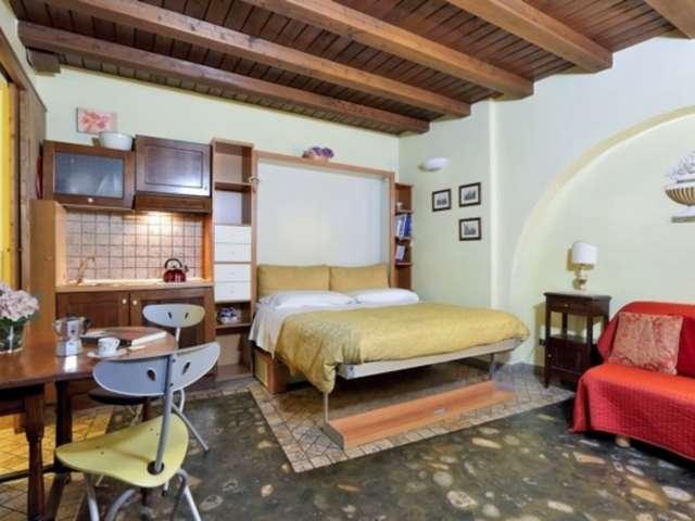 Cosy studio apartment for rent in Centro Storico, Rome
