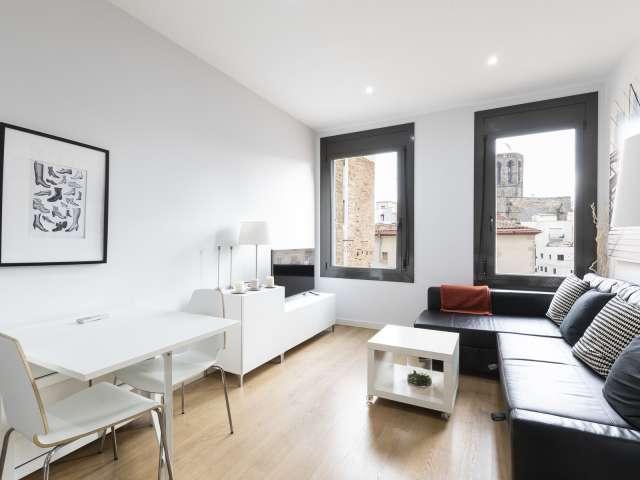 Fab 1-Zimmer-Wohnung zu vermieten in Barri Gòtic, Barcelona