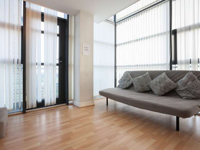 Luminous 2-bedroom apartment for rent in Ballymun, Dublin