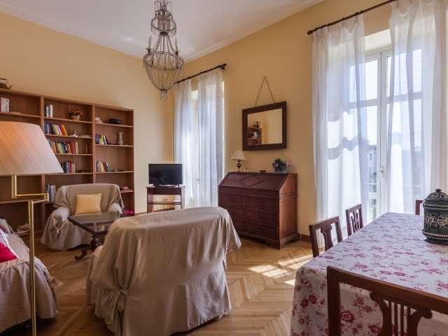 Appartement confortable avec 2 chambres à louer à Salario, Rome
