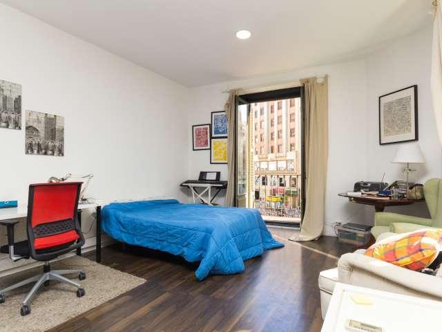 Chambre meublée en appartement partagé à Malasaña, Madrid