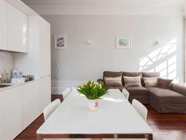 Ideal studio apartment for rent in Ríos Rosas, Madrid