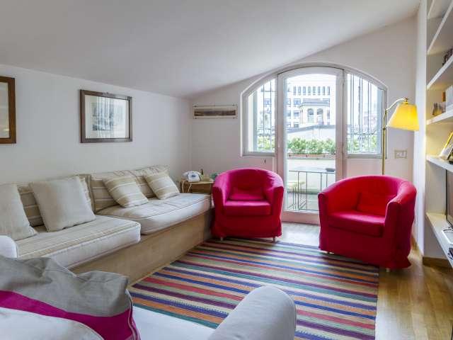 3-bedroom apartment for rent in Brera, Milan