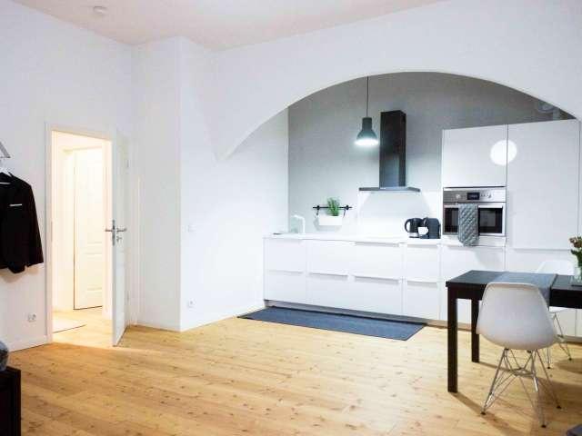 Elegantes Studio-Apartment zur Miete in Prenzlauer Berg, Berlin