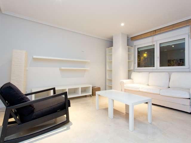 Stylish studio with AC in Retiro, close to Salamanca, Madrid
