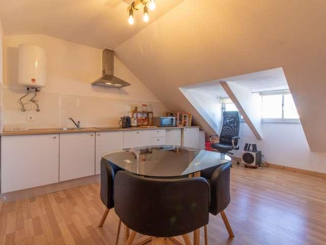 Dynamic studio apartment for rent, Avenidas Novas, Lisbon